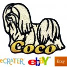 Custom Personalized Iron-on Patch - Lhasa Apso