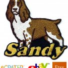 Custom Personalized Iron-on Patch - English Springer Spaniel