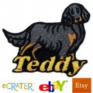 Custom Personalized Iron-on Patch - Gordon Setter