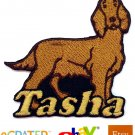 Custom Personalized Iron-on Patch - Irish Setter