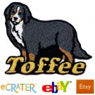 Custom Personalized Iron-on Patch - Bernese Mountain Dog
