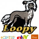 Custom Personalized Iron-on Patch - Chinese Crested