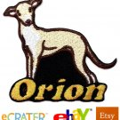 Custom Personalized Iron-on Patch - Italian Greyhound