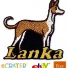 Custom Personalized Iron-on Patch - Ibizan Hound