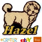 Custom Personalized Iron-on Patch - Maltipoo