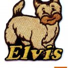 Custom Personalized Iron-on Patch - Cairn Terrier