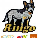 Custom Personalized Iron-on Patch - Australian Cattle Dog