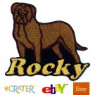 Custom Personalized Iron-on Patch - Dogue de Bordeaux