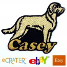 Custom Personalized Iron-on Patch - Spinone Italiano