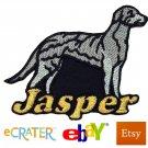 Custom Personalized Iron-on Patch - Scottish Deerhound
