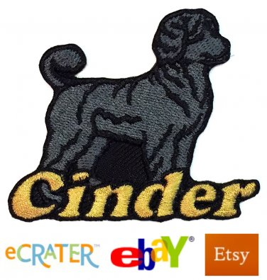 Custom Personalized Iron-on Patch - Portuguese Water Dog