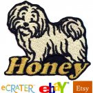 Custom Personalized Iron-on Patch - Havanese