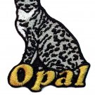 Custom Personalized Iron-on Patch - Ocicat