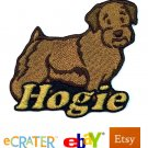 Custom Personalized Iron-on Patch - Norfolk Terrier