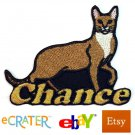 Custom Personalized Iron-on Patch - Chausie