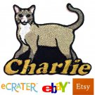 Custom Personalized Iron-on Patch - Snowshoe