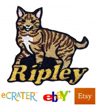 Custom Personalized Iron-on Patch - American Bobtail