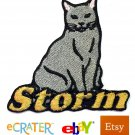 Custom Personalized Iron-on Patch - Chartreux