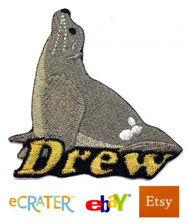 Custom Personalized Iron-on Patch - Seal