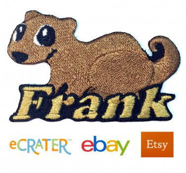 Custom Personalized Iron-on Patch - Ferret