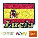 Custom Personalized Iron-on Patch - Spain Flag