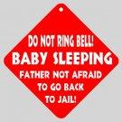 Sleeping Baby Funny Home Door Window Signs 15871412