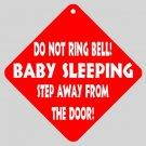 Sleeping Baby Funny Home Door Window Signs 15871437