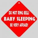 Humorous Sleeping Baby Home Door Window Signs 15871413