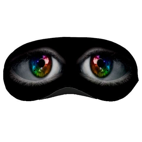 Rainbow Eyes SLEEPING MASK Comfortable Polyester foam at BlueSkies  23043214