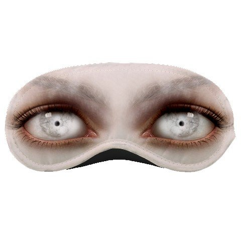 Scary Creepy Eyes SLEEPING MASK Comfortable Polyester foam at BlueSkies  23043237