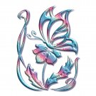 Colorful BUTTERFLY Bathroom Shower Curtain