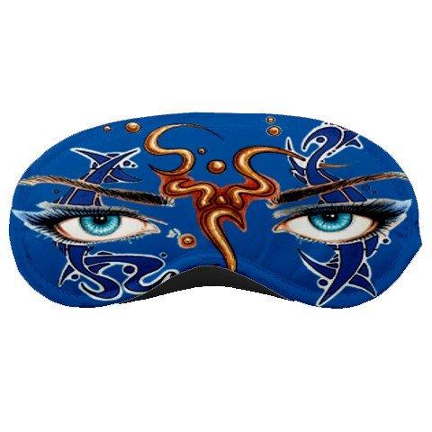Blue Art Eyes SLEEPING MASK Comfortable Polyester foam at BlueSkies  24902068