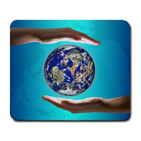 EARTH DAY Mousepad Office Large 14431847