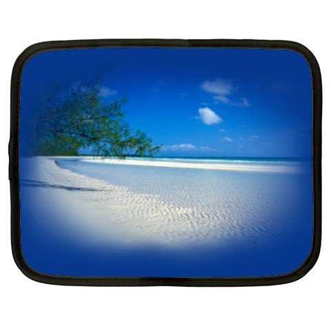 BLUE BEACH SCENE netbook laptop 15 inch case cover sleeve XXL 26754280 BSEC