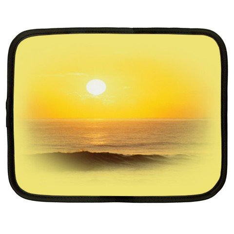 YELLOW BEACH SCENE netbook laptop 15 inch case cover sleeve XXL 26754289 BSEC