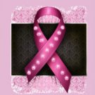 "VELVETEEN PLUSH FLEECE Pink Breast Cancer BLANKET 60""x50"" Twin or Full  #BSEC-CT"