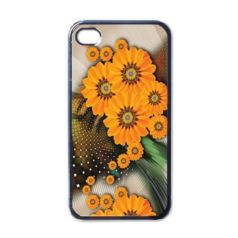 SUNFLOWER ABSTRACT Apple iPhone 4 Case Cover #AN-28147280