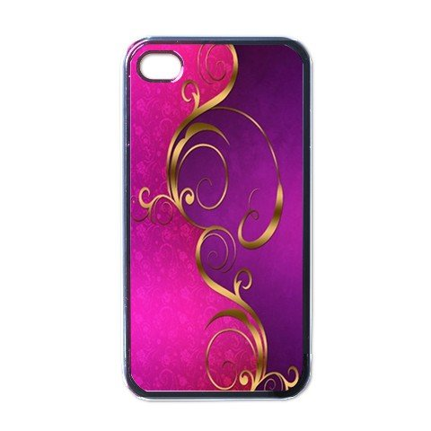 ABSTRACT PINK PURPLE Apple iPhone 4 Case Cover #AN-28147458