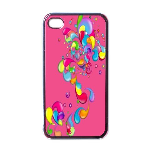 ABSTRACT PINK Apple iPhone 4 Case Cover #AN-28147459