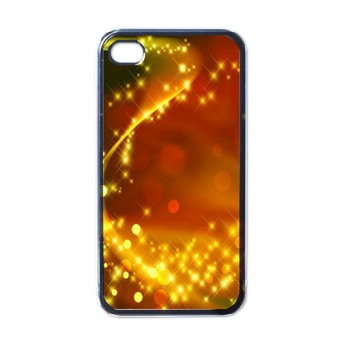 GOLD ABSTRACT Apple iPhone 4 Case Cover #AN-28147697