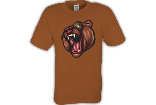 Brown Bear Tee shirt T-shirt Youth Toddler  Sz 2T - 4T #CT