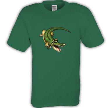 Green Alligator Tee shirt T-shirt Youth Toddler  Sz 2T - 4T #CT