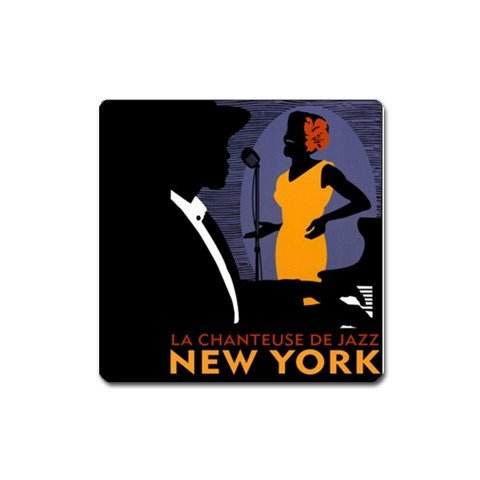Vintage NEW YORK Art design Magnet refrigerator Locker 29075408