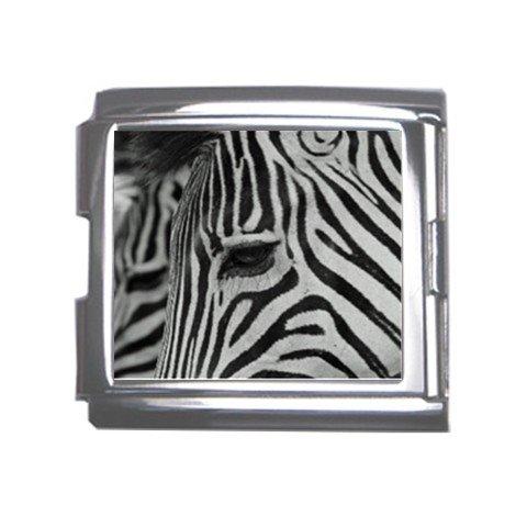 Zebra Italian Charm Bracelet Single MEGA Charm Size 18mm 26846847