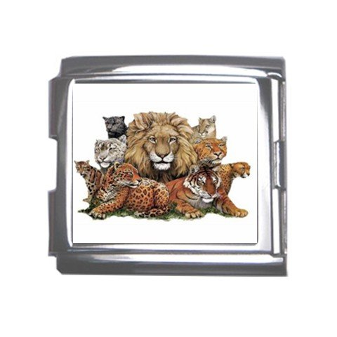 Wild Jungle Animals Italian Charm Bracelet Single MEGA Charm Size 18mm 26846873