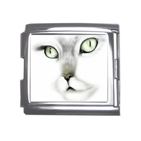 Cat Face Italian Charm Bracelet Single MEGA Charm Size 18mm 26846895