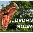 Dinosaur T-Rex PERSONALIZED Mats door mat or rug for Bedroom #BSEC-CT