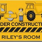 Construction PERSONALIZED Mats door mat or rug for Bedroom #BSEC-CT