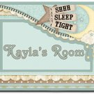 Baby Nursery PERSONALIZED Mats door mat or rug for Bedroom #BSEC-CT