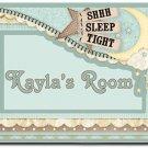 Baby Nursery PERSONALIZED Mats door mat or rug for Bedroom #BSEC-CT